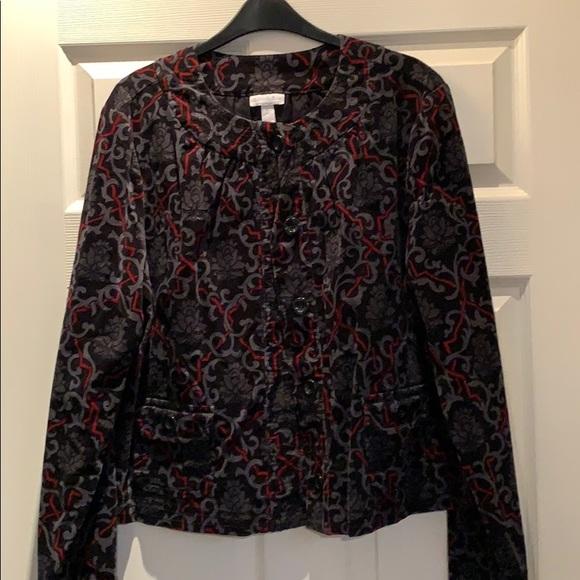 Corduroy fashion jacket